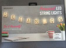 Personalise LED String Lights Battery Operated