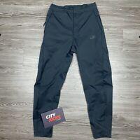 New Mens Nike Sportswear Woven Pants Black Taper Leg Sz XS AR3221 010