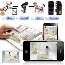 Mini WIFI IP Wireless Spy Cam Remote Hidden DV Home Security Camera Ornate Best