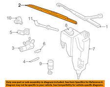 GM OEM Wiper Washer-Windshield-Blade Left 15757007