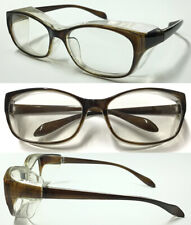 Y1 Anti-Pollen Anti-Dust Anti-Droplets UV Protected Brown Eyewear Outdoor Safety