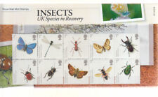 2008 INSECTS SPECIES IN RECOVERY PRESENTATION PACK No 412