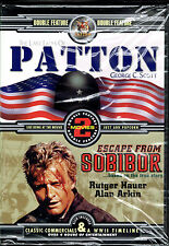 Last Days of Patton / Escape From Sobibor , BRAND NEW FACTORY SEALED DVD (2002)