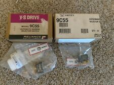 Lot Of 2 Reliance Electric 9c55 Automanual Selector Switch New Sealed Bag