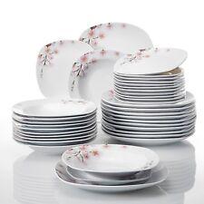Tafelservice 'Annie' aus Porzellan 36 teilig Tellerset für 12 Personen