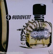 Audiovent 2002 Dirty Sexy Knights Original Light Box Translucite Promo Poster