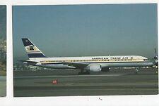 American Trans Air Boeing B-757-208 Aviation Postcard, A668