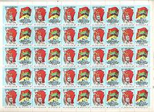 USSR 1987..SHEET n°YT: 5419-20...15€..MNH.. .MOZAMBIQUE-USSR...PEACE TREATY 10th