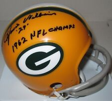 Packers HOWIE WILLIAMS Signed Mini Helmet AUTO 62 Champ