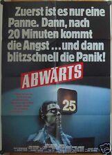 ABWÄRTS (Plakat '84) - GÖTZ GEORGE