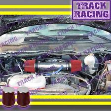 DUAL 2004-2007 DODGE DAKOTA/DURANGO 4.7 4.7L V8 TWIN AIR INTAKE KIT Blue Red
