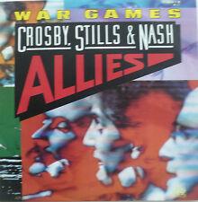 "7"" 1983 RARE MINT- ! CROSBY STILLS & NASH : War Games"