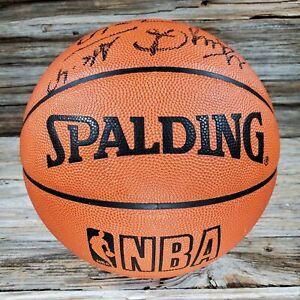 1994 Utah Jazz Signed Players Official NBA DAVID STERN Game Basketball