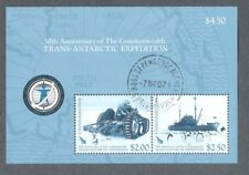 Ross Dependency-Trans Antarctic Expedition 50th Anniv fine used-tractor-Ship