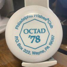 """Wham-o Frisbee mini 4"""" Philadelphia 1978 Octad tournament"""