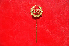 German DRL Military Sport Physical Training pin badge BRONZE golden plate