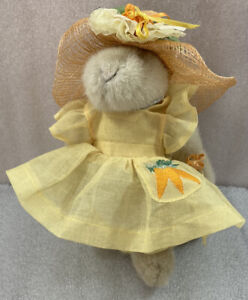 "Muffy Vanderbear HOPPY VANDERHARE Easter Fantasy 8"" Rabbit w/Tags"