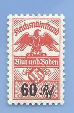 Germany Nazi Third Reich Swastika Eagle Blunt Boden 60 Rpf Stamp MNH WW2 ERA