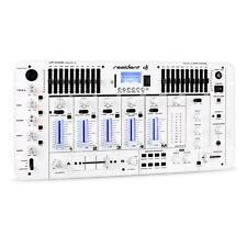 4 Kanal DJ Controller Mixer Mischpult USB Bluetooth 10 Band Musik Disco Rack