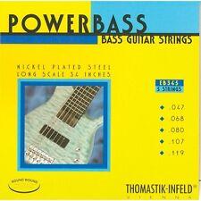 Thomastik Infeld EB345 PowerBass Bass Guitar Strings 5-string gauges 47-119