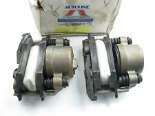 REMAN. Autoline C433738A Front Brake Caliper Set W/ Brake Pads