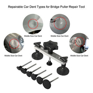 PDR Tool Puller Bridge For Car Body Dent Ding Hail Repair Paintless DIY Removal