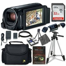 Canon VIXIA HF R800 Camcorder w Sandisk 32 GB SD Memory Card + Extra Accessories