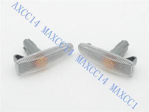 Pair Fender light Side Marker Lights Turn Signals Lamp For MITSUBISHI PAJERO V93