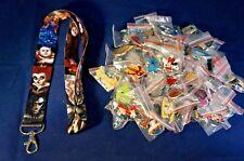 Disney World 25 Pin Trading Lot Lanyard Starter Tim Burton Alice in Wonderland