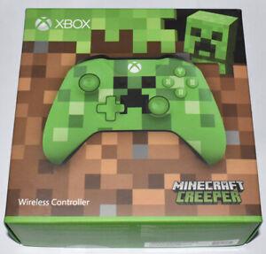 Microsoft Xbox One Minecraft Creeper Wireless Controller