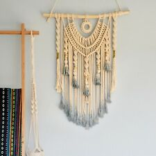 2019 New Woven Wall Hanging Macrame Wall Hanging Large Above Bed Decor Neutral
