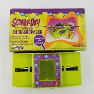2003 Scooby Doo Automatic Card Shuffler Rare VHTF (ONLY ONE SIDE SHUFFLES)