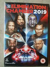 ELIMINATION CHAMBER 2019 - DVD DE CATCH WWE NEUF EN ANGLAIS