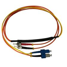 1 Meter ST- 50/125 MM/SC- SM Mode Conditioning Fiber Optic Patch Cable (SC Equip