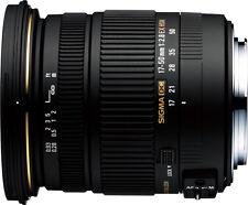 Sigma 17-50 mm F2.8 EX DC OS HSM f. Canon EF-S NEU