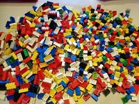 LEGO 50 Bricks 2x2, 2x3, 2x4  Mixed Colours & Sizes