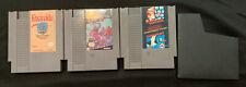Nes Video Game Lot Mario 3 Carts Nintendo Authentic