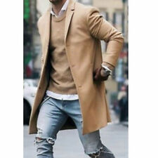 Men's Casual Hooded Coat Slim Jacket Overcoat Thin Stand Collar Hoodie Blue 3xl