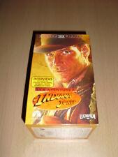 LES AVENTURES D'INDIANA JONES VHS (coffret 4 cassettes) Harrison Ford Lucasfilm