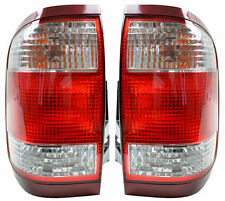 Pair of Tail Lights Nissan Pathfinder 02/99-06/05 New R50 Rear Lamps 00 01 03 04