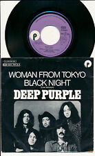 """DEEP PURPLE 45 TOURS 7"""" GERMANY WOMAN FROM TOKYO"""
