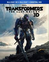 Transformers: The Last Knight [New Blu-ray 3D] With Blu-Ray, 3D, Digitally Mas