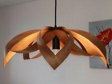 Wood lamp/Wooden lamp shade/Hanging lamp/Pendant light/Ceiling lamp