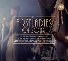 FIRST LADIES OF SONG 3CD NEU DORIS DAY/PEGGY LEE/ELLA FITZGERALD/MARILYN MONROE
