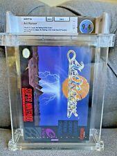 1991 SNES Super Nintendo Act Raiser CIB Graded WATA 9.4 (Cart 9.6!) 🔥 Enix
