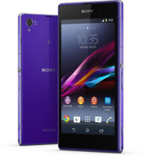 Sony Ericsson Xperia Z1 C6903 Unlocked Android Mobile Phone 16gb 20.7mp - Purple