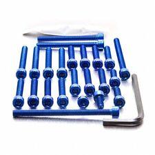 Pro-Bolt Aluminium Engine Bolt Kit - Blue EYA056B Yamaha YZF-R125 08+