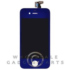 LCD Digitizer Frame Assembly for Apple iPhone 4 GSM Dark Blue  Front Glass Touch