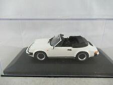 Minichamps 1:43 Porsche 911 SC Carrera cabriolet white