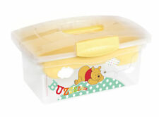 Traveller Disney Winnie the Pooh Yellow Toy Box Travel FoR BaBy Or Children